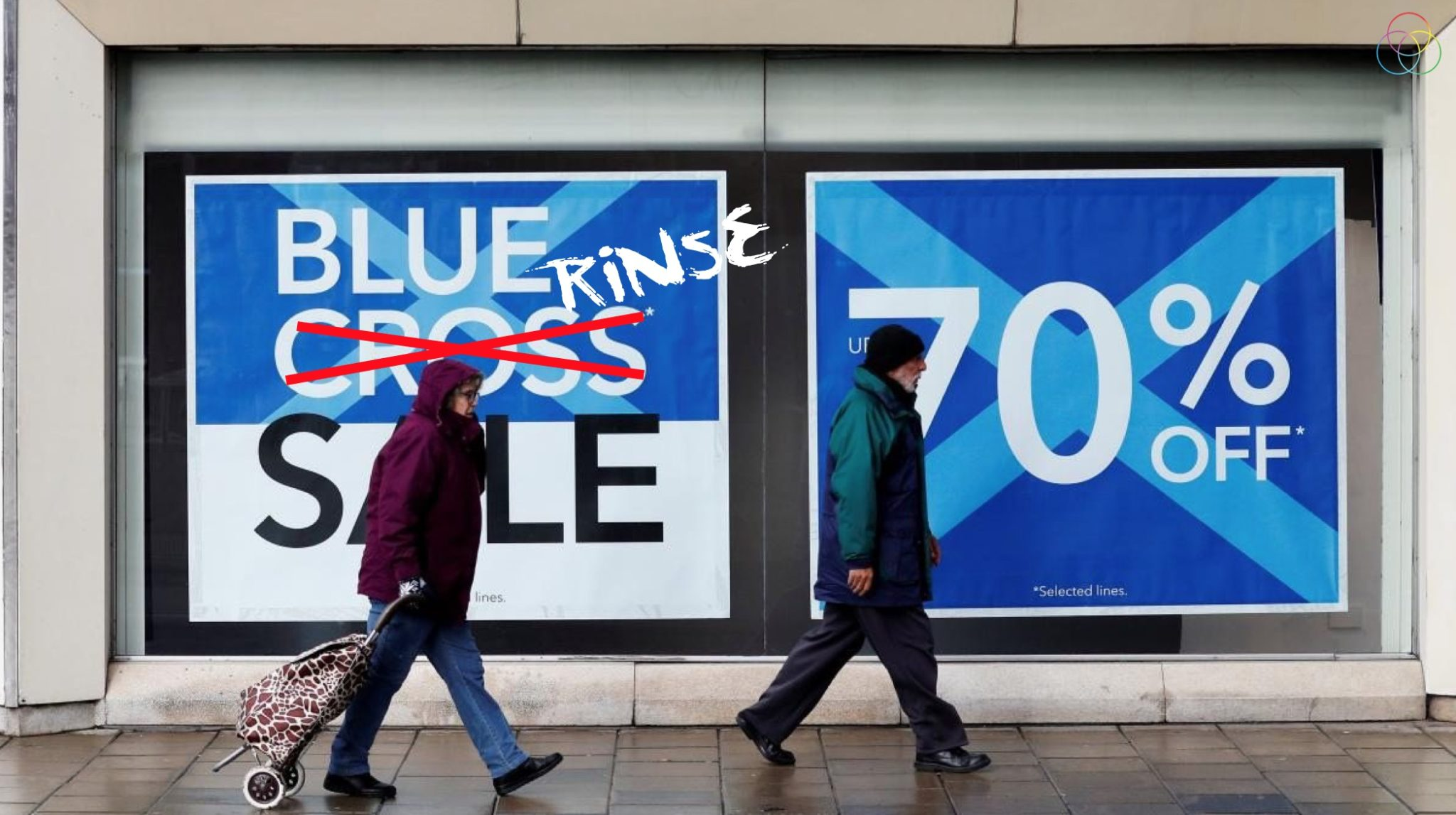 blue rinse sale retail troubles